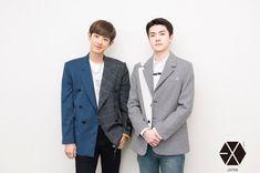 Exo Couple, Best Duos, Exo Members, Park Chanyeol, Chanbaek, Kyungsoo, Photo Book, Suit Jacket, Kpop