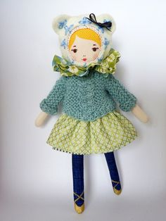 Mlle Dimanche Doll Kit - DIY Handmade Doll Tutorial - How To make a Doll | Small for Big