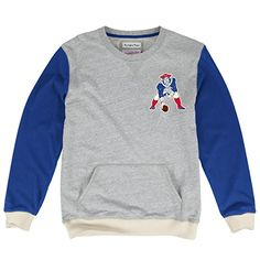 New England Patriots Mitchell  Ness NFL Team to Beat Premium Crew Sweatshirt * You can get more details by clicking on the image.