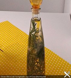 Rosmarin-Knoblauch-Öl