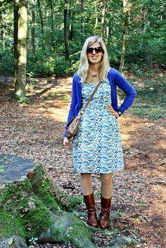 Cambie dress, Sewaholic pattern, made by Goldengelchen