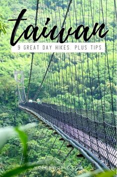 Hiking Taiwan // This guide sets out the best day hikes in Taiwan. Plus handy tips to help you hike Taiwan hassle-free. Find the perfect camping gear for your camping needs Taiwan Travel, China Travel, Paris Travel, Travel Guides, Travel Tips, Travel Destinations, Travel Goals, Time Travel, Laos