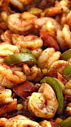 Shrimp Creole Recipe ~ an easy and delicious meal... Made of shrimp, spices, onions and peppers,