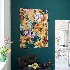 Combo Design is officieel dealer van IXXI ✓Tropical Birds IXXI ✓ Verschillende varianten verkrijgbaar ✓ Gratis verzending (NL) Tropical Birds, Birds 2, Different Textures, Sweet Home, Seasons, Wallpaper, Prints, Painting, Kitchens