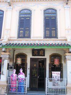 #Melaka, #Malaysia - Baba-Nonya Museum