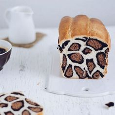 Leopard print bread is the best thing since, well, sliced bread