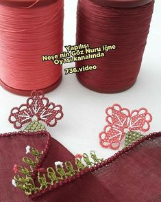 Needle Lace, Sewing Crafts, Elsa, Diy And Crafts, Embroidery, Harems, Youtube, Instagram, Dish Towels