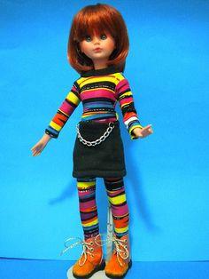 Corinne OOAK-carrot top wig-Italocremona 1965