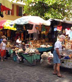 The Old Market, Roseau