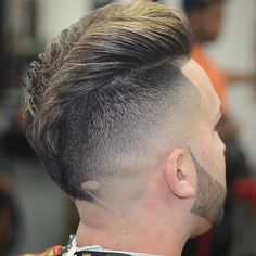 Haircut by beboprbarber http://ift.tt/1SMbnVD #menshair #menshairstyles #menshaircuts #hairstylesformen #coolhaircuts #coolhairstyles #haircuts #hairstyles #barbers