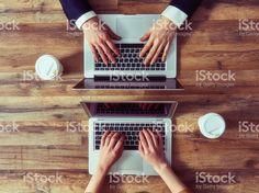 Homme et Femme de travail Stock Photo Libre de Droits 86603417 - iStock