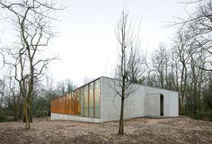URA Architects , Filip Dujardin · KAU Gymnasium · Divisare