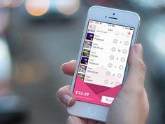 Cart for Polagram App iOS7