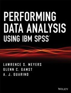 #Mathematics #Philosophy #Books #Wiley,_John_&_Sons,_Incorporated #shopping #sofiprice Performing Data Analysis Using IBM SPSS - http://sofiprice.com/product/performing-data-analysis-using-ibm-spss-88391064.html