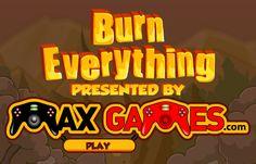 لعبة احرق كل شئ لعبة حلوة من العاب اكشن الرائعة جداً علي العاب فلاش ميزو.