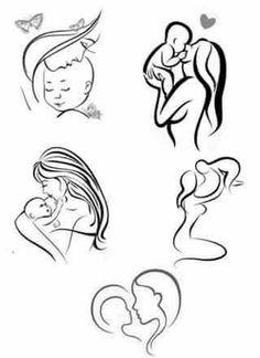 Solomon's Knot Stitch Easy Tutorial Solomons Knot Stitch Easy Tutorial Motherhood Tattoos, Mommy Tattoos, Mother Tattoos, Mother Daughter Tattoos, Baby Tattoos, Tattoos For Daughters, Future Tattoos, Love Tattoos, Beautiful Tattoos