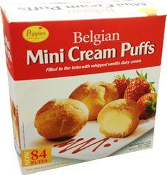 belgian mini cream puffs recipe - Google Search