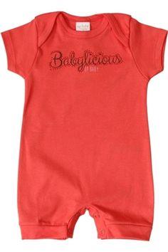 Macaquinho Alegre para seu Babylicious!! http://www.nanapetit.com.br/macaquinho-babylicious-coral-p939/