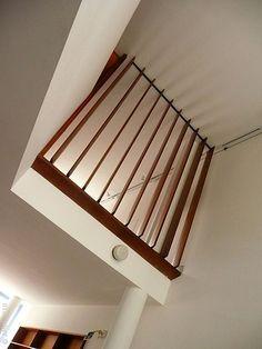 100420-50 LA PLATA - Casa Curuchet (arq. Le Corbusier) - Interior: doble altura