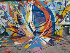 Sabotaje Al Montaje New Mural In Las Palmas De Gran Canaria, Spain | StreetArtNews | StreetArtNews