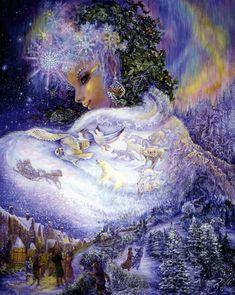 Josephine Wall - Snow Queen