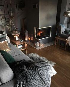"""2,108 Likes, 45 Comments - Joanna (@manufaktura_splotow) on Instagram: """"Na kanapie pan R. W fotelu ja. Na drapaku Koko, Kofi w kocu. W kominku ogień, wokół świece, dużo…"""""""