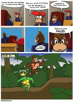 This is Donkey Kong's Country!