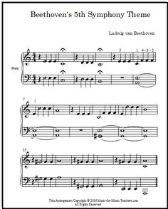 Spectacular How To Play The Piano Lessons. Exhilarating How To Play The Piano Lessons. Beginner Violin Sheet Music, Piano Sheet Music Classical, Learn Piano Beginner, Piano Lessons For Beginners, Easy Piano Sheet Music, Easy Piano Pieces, Beethoven Music, Piano Teaching, Learning Piano