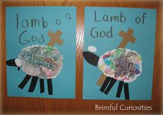 Brimful Curiosities: Lamb of God Lenten Craft & The Ultimate DVD Read and Share Bible: Volume 2