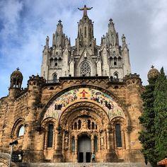 Tibidabo, Barcelona (Spain)