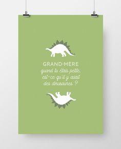 Affiche-grand-mere-dinosaure