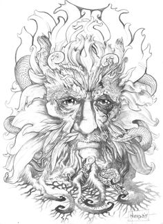 commition for a client back in Australia , the Greenman.