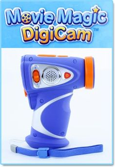 Movie Magic DigiCam ~ With this DigiCam, videos can easily be uploaded to the computer or watched on your tv.  It has fun and easy ways for kids to edit the videos and add animation.  Gift Ideas for Boys