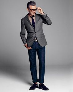 bc0410feb11 style 2010 09 new business casual frank muyjens conventional Gray Jacket