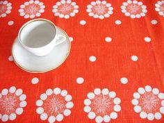 Vintage Tea Towel by VintageDreamBox on etsy.