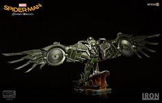 Spider-Man Homecoming Battle Diorama Series : Vulture Art Scale 1:10 S – THE VAULT - Gundam Galaxy