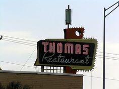 Thomas Restaurant Pryor, Oklahoma