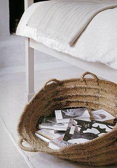 book basket.