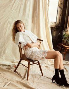 balenciwanga: Magdalena Frackowiak in Harpers Bazaar Korea