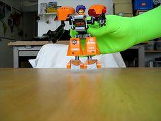 Green gloves in green screen making!