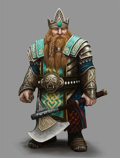 Dwarf, Zwerg, Warrior, Krieger, Larp, King, König, Green Armor, Grüne Rüstung, Axe, Axt