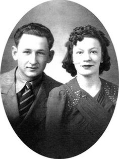 Pappy and Mammy, my mom and dad.  Wilbur McCoy Odneal and Billie Margaret (née Judkins) Odneal.
