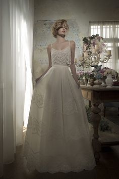 9 Two-Piece Wedding Dresses to Make You Break Tradition - MODwedding
