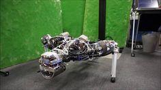 """❝ Kengoro, el robot que """"suda"""" para no sobrecalentarse [VÍDEO] ❞ ↪ Puedes leerlo en: www.divulgaciondmax.com"""