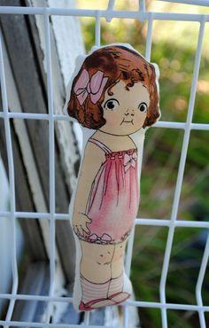 vintage inspired doll - periwinkle jazz