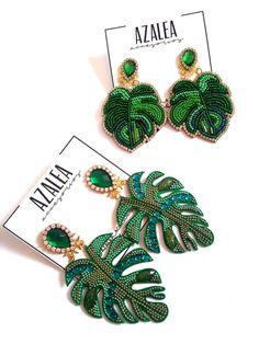 Bead Earrings, Crochet Earrings, Polymer Clay Charms, Beadwork, Boho Chic, Jewlery, Creations, Relax, Beads
