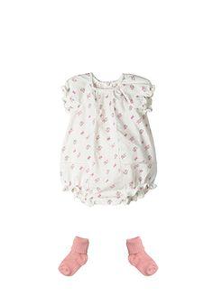 Baby Girl Romany vêtements Outfit Set Ange Body Growbag Cadeau 0-9 mois 5 pcs