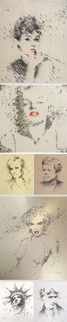 Alan Craig 1971 - Pixel people - Tutt'Art@