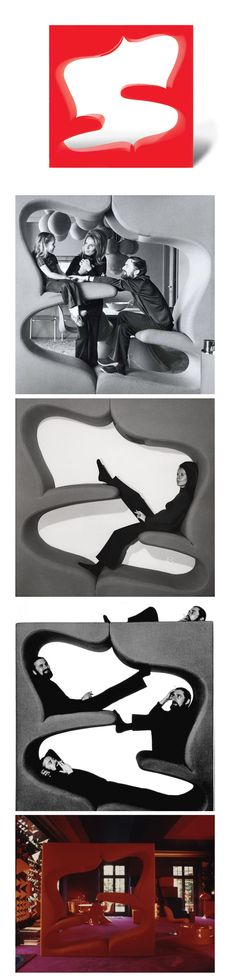 1000 images about padded seating on pinterest space age. Black Bedroom Furniture Sets. Home Design Ideas