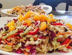 My favorite go-to #recipe for summer entertaining {{Chinese Cabbage Salad}} https://goo.gl/6Xrxj3  #SaladsAndSun